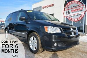 2017 Dodge Grand Caravan- UNDER 45,000 KMS, LEATHER, NAVIGATION