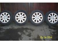 VW Alloys x 4..