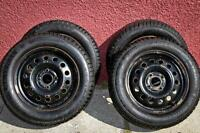 Studded winter tires with rims for sale