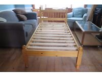 Pine Single Bed - Excellent Condition