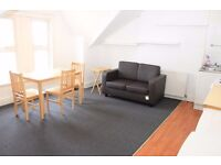 One bedroom flat available now on Bowes Road. Includes bills