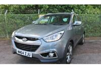 Hyundai ix35 1.7 Blue Drive Premium CRDi Turbo Diesel [Leather] 2WD (grey) 2015