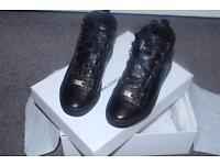 Balenciaga black high tops