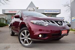 2012 Nissan Murano Platinum *Leather,Navigation,Heated seats*