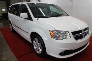 2016 Dodge Grand Caravan CREW PLUS, CUIR, BLURAY, CAMERA DE RECU