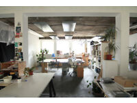 Desk Spaces Available in Hoxton Artist/Designer/Maker Studio Space
