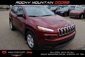 2017 Jeep Cherokee Sport FWD/AWD Heated Seats & Steering Wheel *