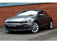 *FINANCE FROM £54/WEEK* 2012 VW SCIROCCO 2.0 TDI BLUEMOTION - JUST 21000 MILES! - GREY - FSH