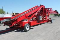 "Telescopic Piler, 36"" x 48ft Mayo All Belt, Reconditioned"