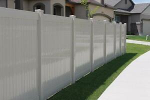 Derkson PVC VINYL *** Canada's Source for Anything Fence, Period !