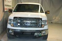 2013 Ford F-150 Local trade very well maintained, very low KM's.