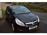 Black Vauxhall Corsa Design Automatic