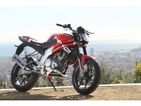 *MOTORCYCLE* 2017 Plate Rieju RS3 125 LC. Warranty. Free Delviery. Main Dealer