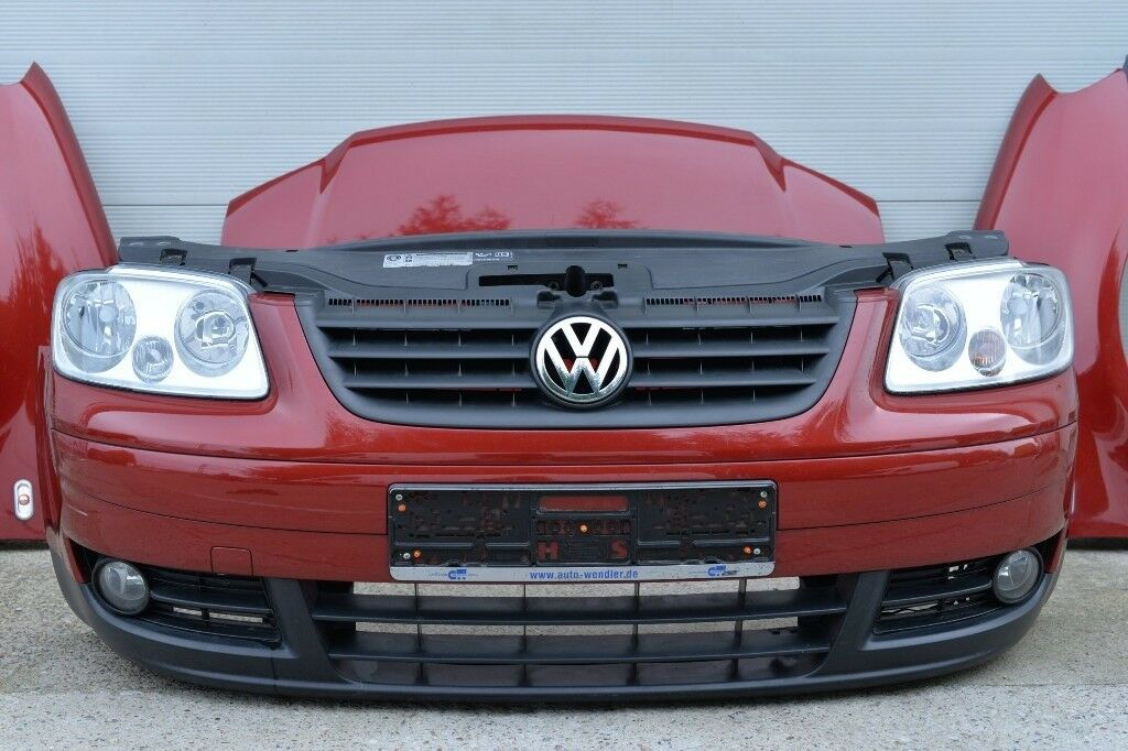 Vw Touran Caddy Van 2ko Front End Bonnet Wings Bumper Grill Ideal For Coddy Conversion Delivery