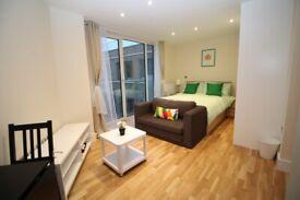 Studio Apartment in Elite House, £1150PCM Excluding Bills, 323 SqFt, 3rd Floor, Limehouse E14 - SA