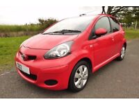 Toyota Aygo GO VVT-I 5 Door One owner, Service History, ideal first car or city.