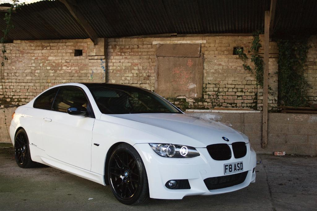 Bmw 320d Coupe 2007 One Off 335 Twin Exhaust White Csl