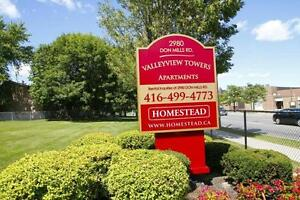 Valleyview Towers - 2980 Don Mills Rd- One Bedroom