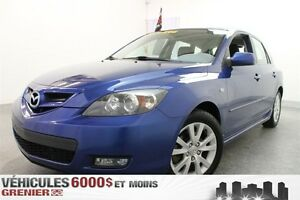 2008 Mazda MAZDA3 SPORT GS A/C+GR.ÉLECT+MAGS