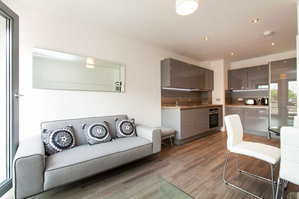 MODERN LUXURY DESIGNER FURNISHED 1 BEDROOM APARTMENT - DALSTON JUNCTION E8 ANGEL ISLINGTON HACKNEY
