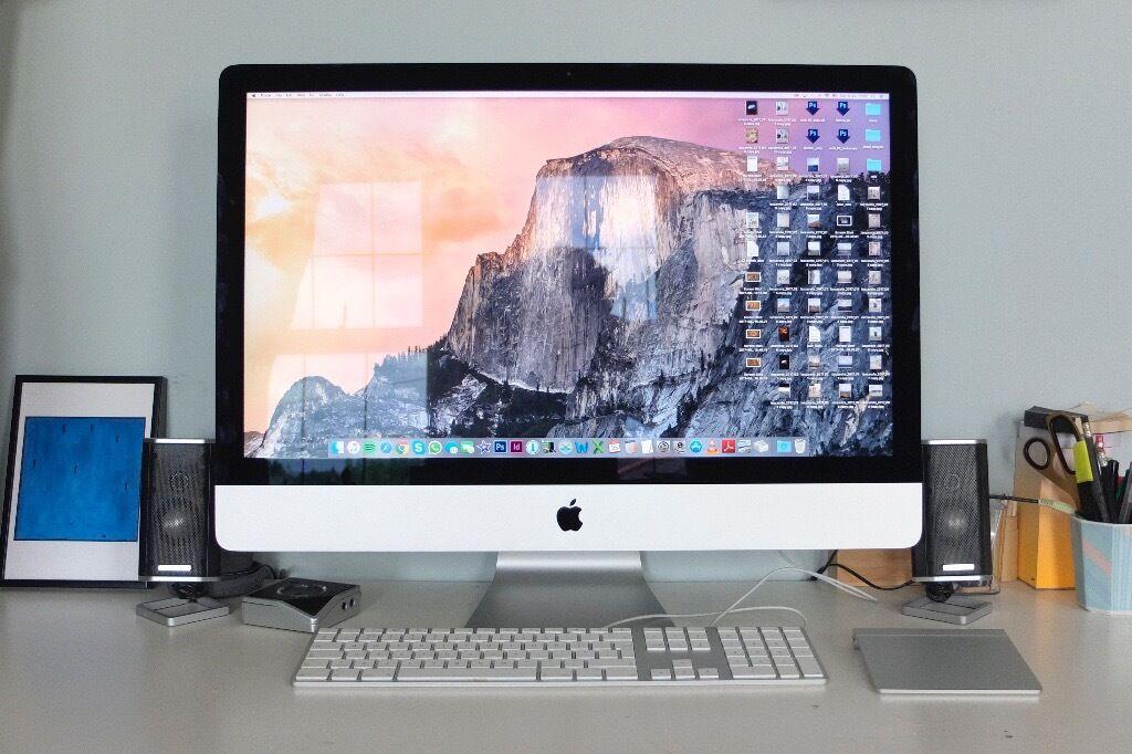 Apple iMac 27 Inch3TB2014in Lewisham, LondonGumtree - Apple iMac 27 Inch 3TB 2014 Specs iMac (27 inch, Late 2013) Purchased April 2014 Processor 3.4 GHz Intel Core i5 Startup Disk Macintosh HD 3 TB Memory 8 GB 1600 MHz DDR3 Graphics NVIDIA GeForce GTX 780M 4096 MB Display (2560 x 1440) Notes Screen...