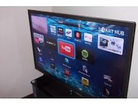 Samsung 51 inch Smart plasma TV PS51 E6500 , Freeview and Freesat with remote