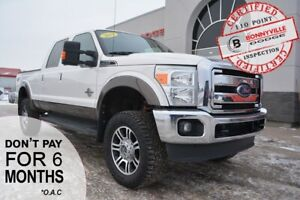 2015 Ford Super Duty F-350 LARIAT- Tonneau Cover, UNDER 80,000