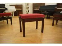 Adjustable piano stool. Brand new