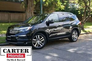 2016 Honda Pilot Touring + NAVI + BLUERAY + LOW KMS + CERTIFIED!