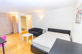** VERY MODERN STUDIO APARTMENT IN GREAT LOCATION NEXT TO DLR. CB **