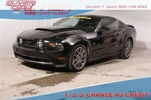 2010 Ford Mustang GT CUIR MAGS BLUETOOTH A/C