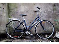 GIANT SYDNEY, ladies women's hybrid road city bike, 18.5 inch, 18 speed