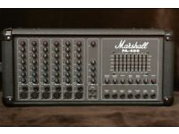 400 watt Marshall pa 400 with Allan Gorden speakers and speaker stands.