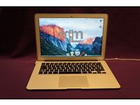 "APPLE MACBOOK AIR CORE i5 13"" 1.7GHZ 4GB 121GB SOLID STATE DRIVE MICROSOFT OFFICE CUBASE ABLETON FM8"