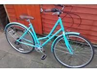Ex demo Kingston Hampton ladies town bike
