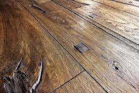 Engineered oak wood floor