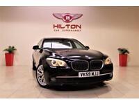 BMW 7 SERIES 3.0 730D SE 4d AUTO 242 BHP + TOP SPEC + SAT/NAV + (black) 2009