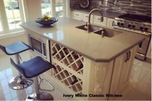 Kitchens, Vanities & Stone Counters @ Factory Prices! We Specialize in All your Kitchen & Bathroom Renovation Needs!