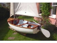 Tepco 10ft Sailing Dinghy / Large Tender. Bermudan Rig. Excellent all rounder to sail, row & motor.