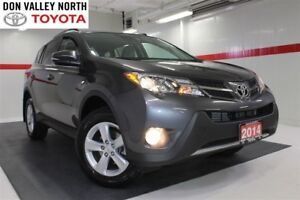 2014 Toyota RAV4 XLE Sunroof Btooth BU Camera Heated Seats