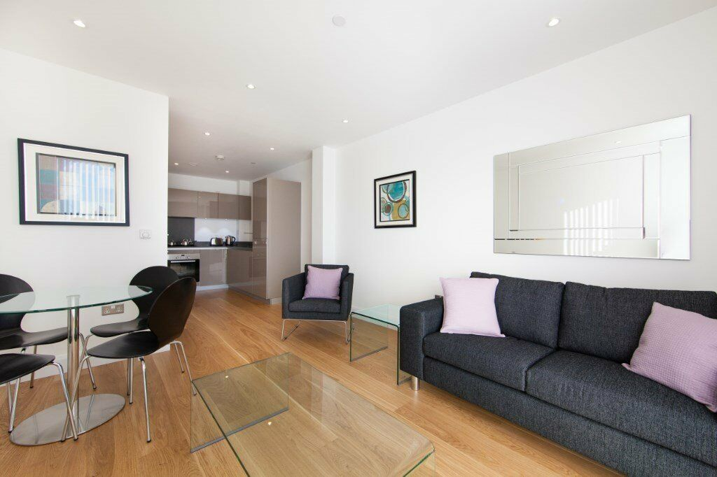 LUXURY 1 BED MERCHANTS WALK E3 BOW DEVONS ROAD LANGDON PARK BROMLEY CANARY WHARF