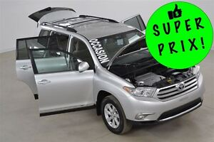 2013 Toyota Highlander V6 4WD 7 Passagers Bluetooth+Camera de Re