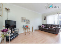 A wonderful large 2 bedroom house with garden and parking available right away