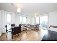 Modern 2 Bed 2 Bath Apartment in Bow, E3, Concierge, Gym, Rooftop Terrace, Private Balcony- VZ