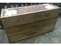 Pine chest of drawers (FREE)