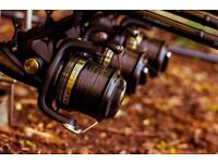 3 Shimano Big Baitrunner LC XT A with 3 spare spools