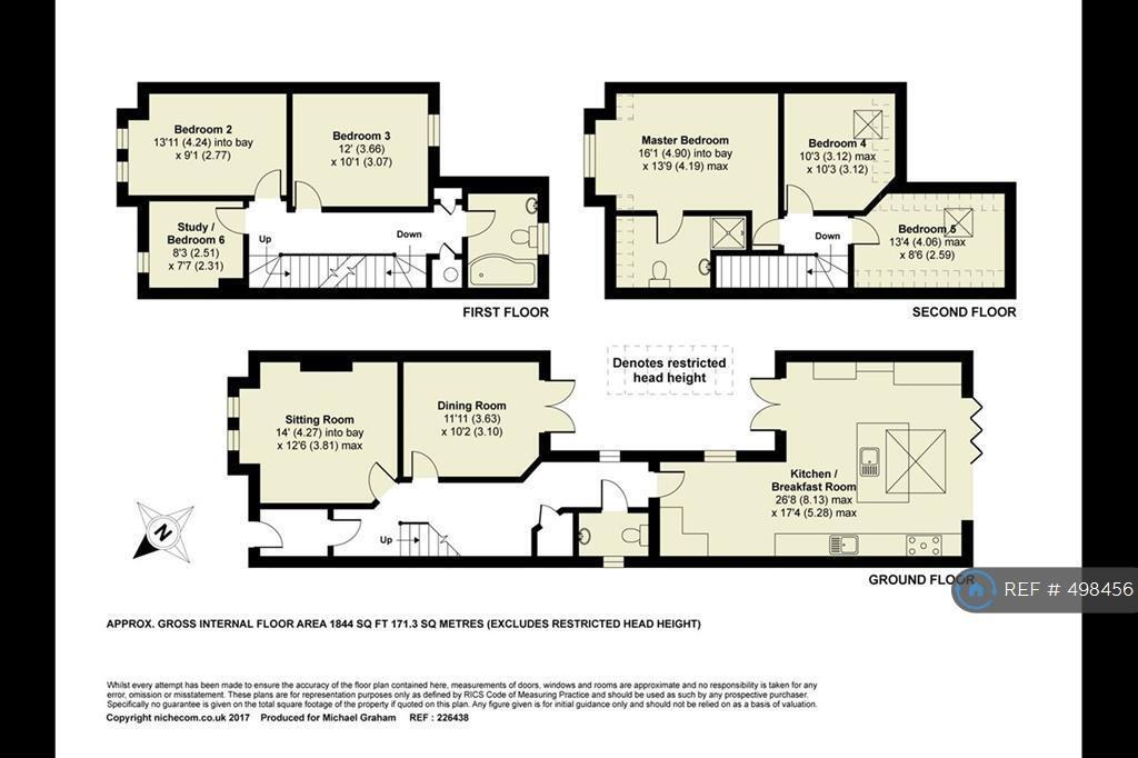 6 Bedroom House In Clapham Road Bedford MK41 6 Bed
