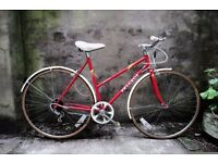 PEUGEOT MONTE CARLO, 20 inch, 51 cm, vintage ladies womens dutch mixte frame road bike, 5 speed