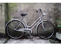 PUCH SPRINT, 20 inch, 51 cm, vintage ladies womens dutch style traditional road bike, 3 speed