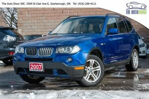 2007 BMW X3 3.0i   FULLY LOADED   BLUE TOOTH  